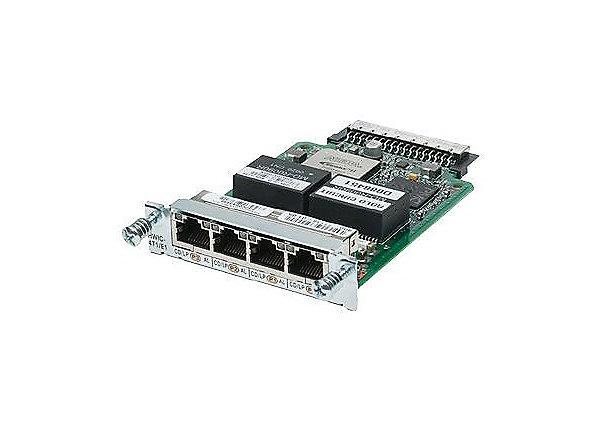 HWIC-4T1/E1= Price Datasheet Cisco 2900 Series Interfaces